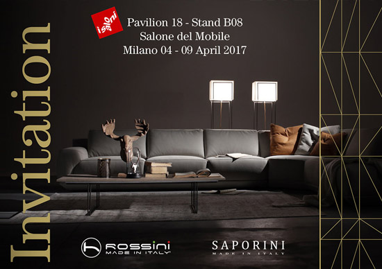 Milan 2017 - Saporini Singapore booth details, hall 18 B08